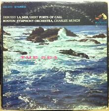 CHARLES MUNCH debussy & ibert the sea LP VG LSC-2111 Living Stereo 1958 WD USA