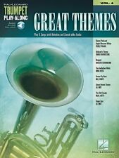 Great Themes Trumpet Play-Along Book Audio Online NEW 000137386