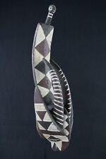 Art Africain Afrikanische Kunst Spectaculaire Masque Passeport Gurunsi 41,5 Cms