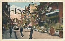 NEW YORK CITY – Mott Street in Chinatown