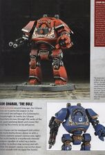 Warhammer 40k Contemptor Dreadnought Betrayal at Calth Horus Heresy Plastic New