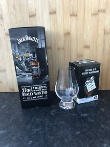 Jack Daniels Rock Glass X 2 Dad Gift Set With Free Whiskey Glass