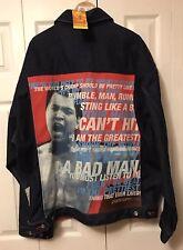 Muhammad Ali Fubu Platinum Denim Jacket NWT Size XXL