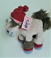 """Diddl Galupy 9"""" Horse  Soft Toy Plush Beanie Comforter  Excellent WITH TAG"""