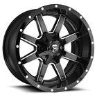 Fuel D610 Maverick 17x9 5x4.55x5 -12mm Blackmilled Wheel Rim 17 Inch