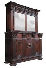 Grand meuble de sacristie en chêne composé d'éléments  anciens
