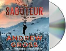 The Saboteur by Andrew Gross (2017, CD, Unabridged)