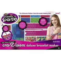Cra-Z-Loom Shimmer & Sparkle Deluxe Bracelet Maker 3400+ Pieces (Box Damaged)