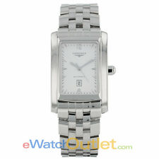 Longines Dolce Vita XL Stainless Steel Bracelet White Dial Watch L56884166