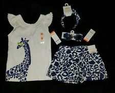 Gymbore girl 4-piece set SPRING / SUMMER BLUE AND WHITE SUPPER CUTE NWT