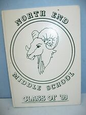 1999 North End Middle School, Waterbury, Connecticut Yearbook