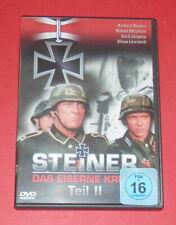 Steiner - Das eiserne Kreuz - Teil 2 (Richard Burton) -- DVD
