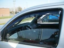 Tinted Window Visors Fits 2005-2011 Toyota Tacoma (Front Only)