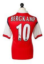 Dennis Bergkamp Signed Shirt Arsenal Autograph 98/99 #10 Jersey Memorabilia COA