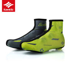 Santic Cycling Shoes Cover Windproof Shoes Protector Overshoes Green EUR 39-42