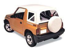 Copertura Softtop di ricambio copertura SUZUKI VITARA 88-04 Bianco Bianco Cappotta Cabrio