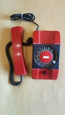 Retro  Telephone Made in Poland RWT  red Vintage  Phone