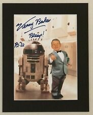 More details for kenny baker as r2d2 reproduction signed print star wars