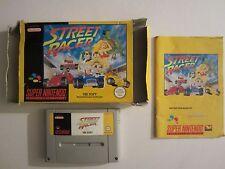 jeu STREET RACER pour SUPER NINTENDO NES PAL FR FAH BOITE COMPLET