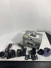 Lot of (2) Nikon COOLPIX 5000 Digital Camera Bundle with 4 Batts+Cords C1