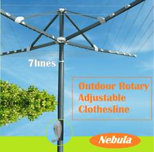 Nebula High Quality Outdoor Rotary Clothesline Rack Dryer 7 Lines