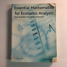 ESSENTIAL MATHEMATICS FOR ECONOMIC ANALYSIS (3RD EDITION) By Peter Hammond