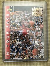 1992-93 Upper Deck In Your Face Michael Jordan #453 Chicago Bulls
