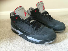 Nike Air Jordan Flight Baskets UK 10/44 édition 2013 noir/rouge