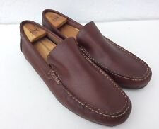 967bbd07fc7 FLORSHEIM MENS BROWN LEATHER DRIVING Slip On LOAFERS MOC Toe SHOES SZ 12 D  Spain