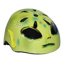 Kids Moulded 3D Helmutts Alien Safety Helmet Bicycle Scooter Skating Head Gear