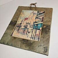 The Old Absinthe House Bar Bourbon Street Historic Roofing Plate