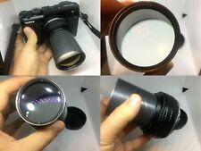 Custom Modified Projection lens 130mm + GFX adapter for Fuji 50S,50r Fujifilm,GF