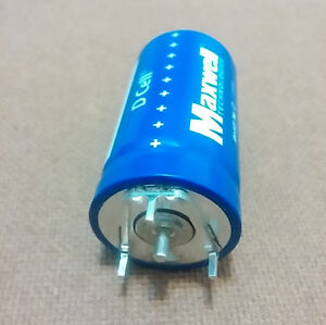 350F (Farad). 2.7V Capacitor. Supercapacitor. Ultracapacitor. Very Low ESR.