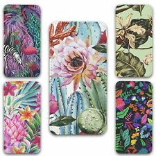 For iPhone XR Flip Case Cover Tropical Set 4