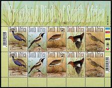 Südafrika South Africa 2010 Steppenvögel Grassland Birds 1967-71 Kleinbogen MNH