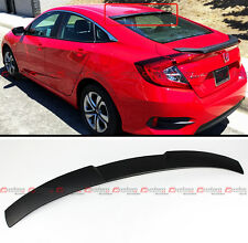 JDM STYLE REAR WINDOW ROOF SPOILER WING FOR 16-2020 10TH GEN HONDA CIVIC X SEDAN