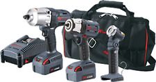 "2-Tool w/Free Light, Ingersoll Rand 3/8""&1/2""Impact Wrench Combo Kit IQV20-3022"