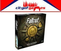 Fallout New California Expansion Board Game Brand New