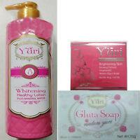 Yuri Set Whitening Body Set,Yuri White lotion+White cream+ Soap. USA SELLER