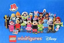 LEGO 71012 Disney Minifigures COMPLETE FULL SET 18 Mickey Minnie Donald Minifigs