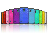 Luxurious Sparkly Studded Bling Diamond Hybrid Case Cover For Samsung Galaxy S5