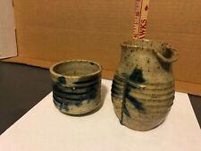 Cynthia Bringle Pottery Sake vessel & cup