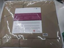 NIP Sleep Number Primaloft Comforter Twin Size Stone Tan MSRP $149.99