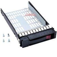 "For HP 3.5"" 373211-002 SATA SAS Tray Caddy ML350 ML370 DL380 G6 G7 373211-001"