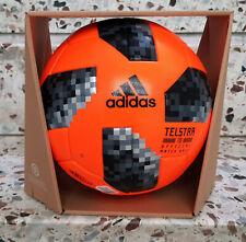 Neu Adidas Matchball Telstar 18 PO WM Russia 2018 Football Ballon Soccer Pallone