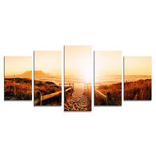 Canvas Prints Wall Art Home Decor Painting Sea Beach Landscape Sunrise Framed