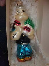 New ListingPolonaise Popeye Eat Your Greens komozja Christmas ornament w/box Ap0907