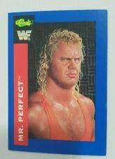 1991 Classic WWF Superstars Mr. Perfect #113 Wrestling Card