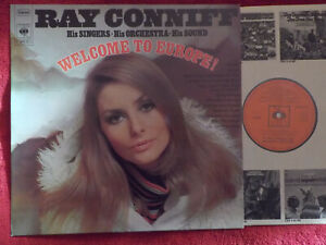 Ray Conniff - Welcome to Europe !    Top German CBS LP