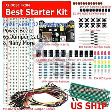 MB102 Solderless Breadboard Protoboard 830 Tie Point MB-102 Test Circuit PCB Set
